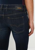 Diesel  - Sleenker-x skinny jeans - blue