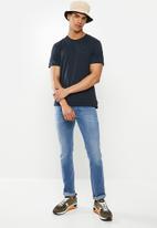 Diesel  - T-diamantik T-shirt - navy