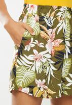 ONLY - Lizbeth paperbag shorts wvn - multi