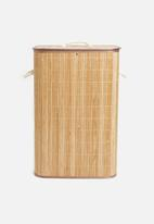 H&S - Bamboo laundry basket - neutral