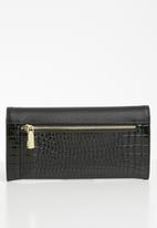 POLO - Winsor clutch purse - black