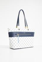 POLO - Rhapsody tote bag - white & blue