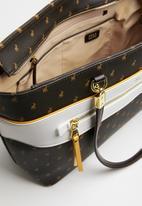POLO - Rhapsody tote bag - brown & white
