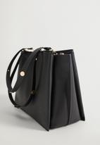 MANGO - Bag Sonia - black
