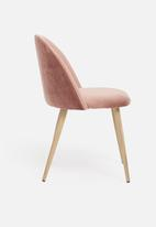 Sixth Floor - Slate dining chair - rose