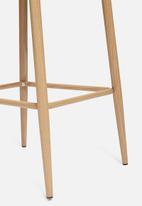 Sixth Floor - Slate kitchen stool - light grey
