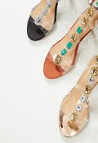Public Desire - Spice heel - clear black