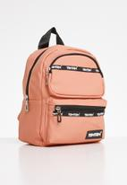 Tom Tom - Tomtom striped backpack - peach