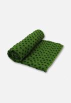 Billy The Bee Yoga - Anti Skid Yoga Towel –  Green
