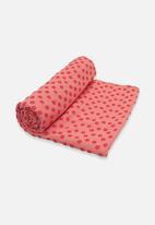 Billy The Bee Yoga - Anti Skid Yoga Towel – Pink