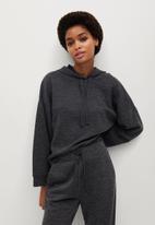MANGO - Sweatshirt maxime - dark grey