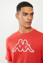 KAPPA - Logo cromen tee - red