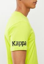 KAPPA - Authentic riter tee - lime