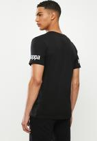 KAPPA - Authentic riter tee - black