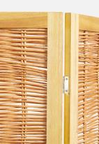 H&S - Willow screen divider - natural