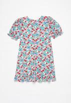 Free by Cotton On - Paris short sleeve dress - multi