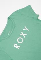 Roxy - The one a short sleeve tee - green