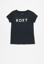 Roxy - The one short sleeve tee - navy
