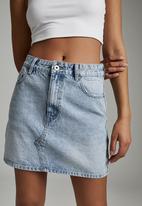 Cotton On - The classic denim skirt - burleigh blue