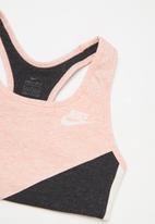 Nike - Nike bra cl veneer wndr - coral & grey