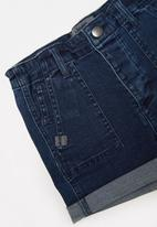 JEEP - Sandy m utility shorts - medium wash
