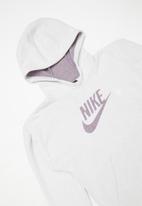 Nike - Fleece po zero long sleeve top - light purple