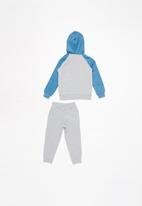 Converse - Boys colorblock dino set - grey & blue