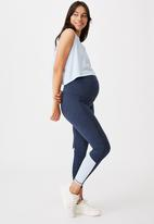 Cotton On - Maternity all things fabulous tank - baby blue
