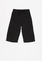 Superbalist - Elasticated culotte - black