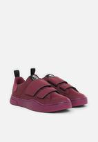 Diesel  - S-clever low strap w sneakers - purple potion