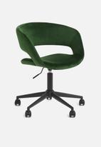 Sixth Floor - Grace desk chair - forest green
