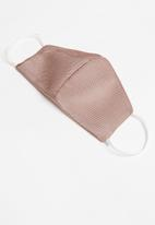 Superbalist - Sports face mask - dusty pink