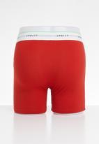 Superbalist - 2-pack Ryder long boxer briefs - blue & red