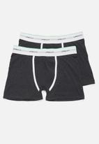 Superbalist - 2-pack Tex boxer briefs - charcoal