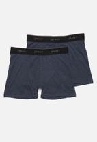 Superbalist - 2-pack Tex boxer briefs - navy