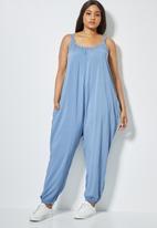 Superbalist - Easy fitting jumpsuit -  blue