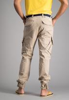 Aca Joe - Mens Aca Joe cargo pants - khaki