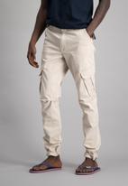 Aca Joe - Mens Aca Joe cargo pants - stone