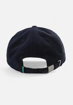 Aca Joe - Mens aca joe embroidered logo cap - navy & white