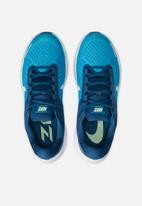 Nike - Air Zoom structure 23  - laser blue/white-valerian blue