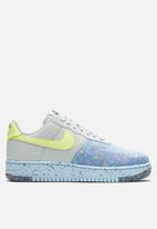Nike - Air Force 1 crater  - pure platinum/barely volt-summit white