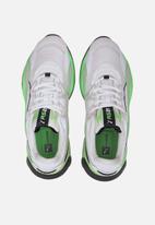 PUMA - Rs-2k messaging - puma white-elektro green