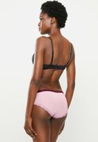 Jockey - 1 Pack ladies brazillian bikini - purple