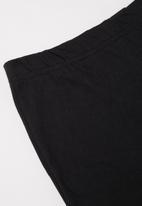 Superbalist - Nasa shorts & tee pj set - grey & black