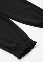 Superbalist - Paperbag waist joggers - black
