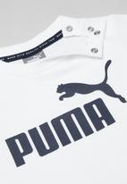 PUMA - Mini cats - white & navy