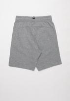 PUMA - Za ess jersey shorts b - grey