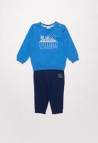 PUMA - Puma x sega baby jogger tracksuit - blue & navy