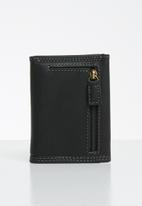 POLO - Tuscany trifold wallet - black