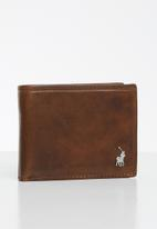 POLO - Etosha wallet small multi card & coin - brown